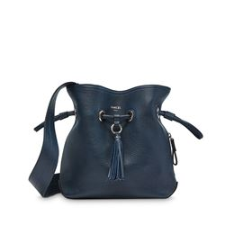 Lancel, Navy bucket bag