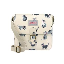 Cath Kidston  Mini satchel painted cats from Bicester Village