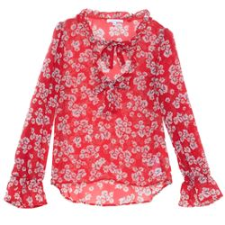 Blouse in Red by Patrizia Pepe at Ingolstadt Village