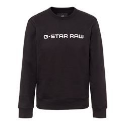 Logo black sweatshirt