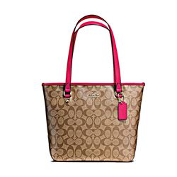 Signature Messico Zip Top Tote