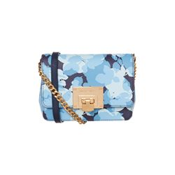 Michael Kors Navy Tina Clutch
