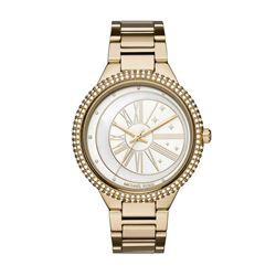 Michael Kors women's watch in gold by Watch Station International at Wertheim Village