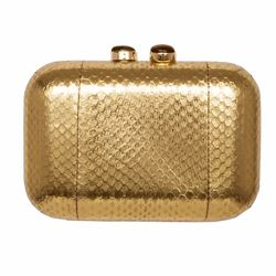 Só Collective Ale Walsh gold clutch