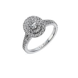 L'Atelier  Neil Lane 14ct white gold 0.8 carat diamond ring from Bicester Village