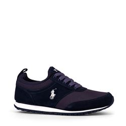Men's sneaker in blue by Polo Ralph Lauren at Wertheim Village