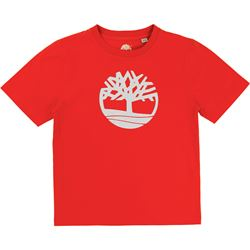 Timberland Red Logo T-Shirt