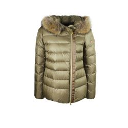 women's ski jacket in khaki by Peuterey at Ingolstadt Village