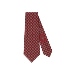 Gucci Men's red/medium grey Soth Tie