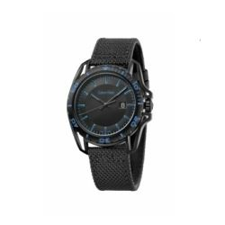 Hour Passion Calvin Klein earth black fabric strap watch
