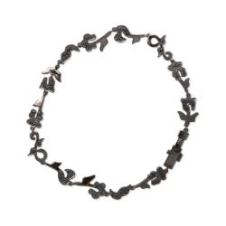 Pulsera diamantes Black Ivy Tous