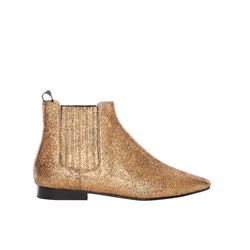 Joseph  Gold boots from Bicester Village