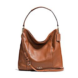 Pebbled Leather Isabelle Shoulder Bag