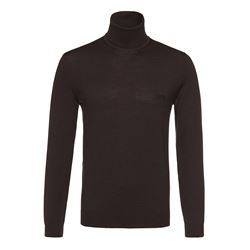 Hugo Boss Men's Black Baldebert Knitwear