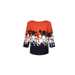 Clarabel Top Orange Multi