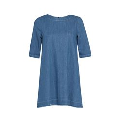 Evelyn Denim Tee Dress