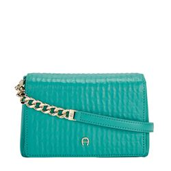 Bag in turquoise by Aigner at Ingolstadt Village