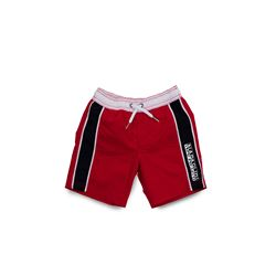 NAPAPIJRI, Red and blue swim shorts