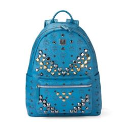 Backpack in blue by MCM at Ingolstadt Village