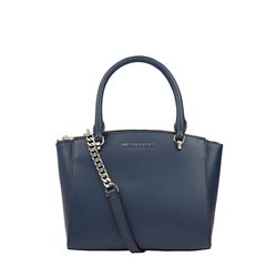 'Ellis Satchel' Handtasche in Navy