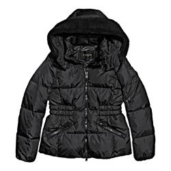 Icon Short Puffer Black