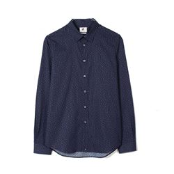 Paul Smith Dark Blue Mens LS Tailored Fit Shirt