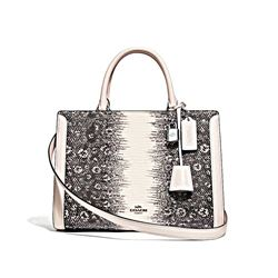 Coach Women's Ring lizard zoe carryall