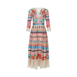 Temperley London  V neck aura dress from Bicester Village