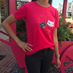 T-Shirt in pink by Karl lagerfeld at Ingolstadt village
