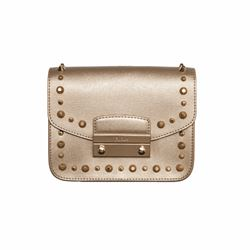 Furla Julia gold stud bag