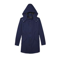 The Kooples Mens Blue Summer Parka
