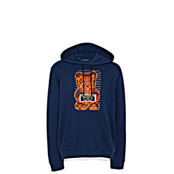 'Gummy Bear Hoodie' Mens Pullover in blue by Coach at Ingolstadt Village