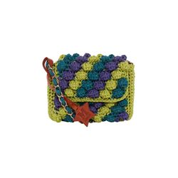 Missoni blue/ purple/ green Fonte fb from Bicester Village