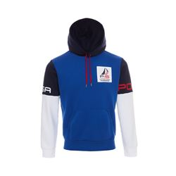 Polo Ralph Lauren cruise royal multi Regatta double knit tech po hood from Bicester Village