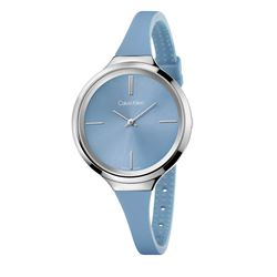 Calvin Klein Watch in blue by Hour Passion at Wertheim Village