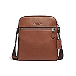 Coach Men's Houston flight bag in smooth leather