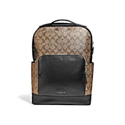Coach Men's Graham backpack in signature