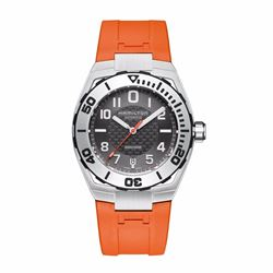 Hour Passion Hamilton khaki navy sub auto in orange
