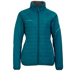 Jacket in turquoise