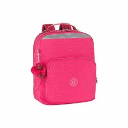 Kipling Ava pink berry small backpack