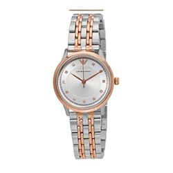 Armani women's watch in silver-gold by Watch Station International at Wertheim Village