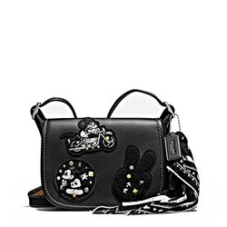 Women's bag 'Mickey Patches Patricia' in black by Coach at Ingolstadt Village