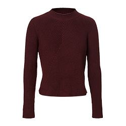 Sandro - Dark red knit jersey