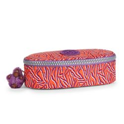 Kipling small flame print pencil case