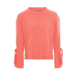 N.Peal  Tie sleeve coral jumper from Bicester Village