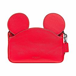 Mickey leather ears wristlet