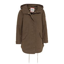 Pepe Jeans - Long khaki jacket