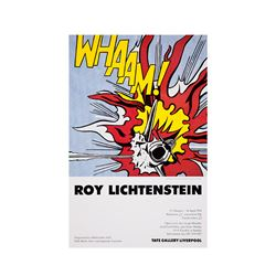 TATE  Roy Lichtenstein: 1993 vintage poster from Bicester Village
