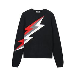 Zadig & Voltaire kids, Black Zadig jumper 16 years