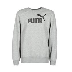 Sweat-shirt à logo gris